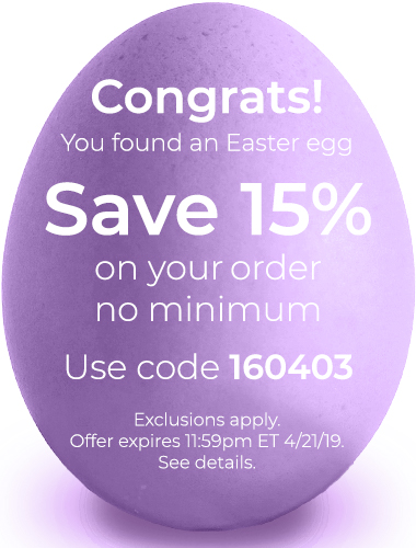 Save 15% on your order