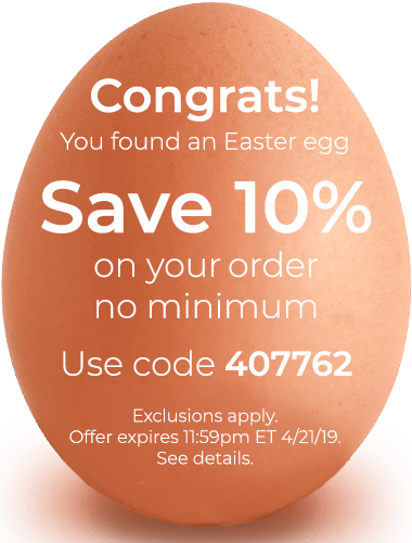 Save 10% on your order