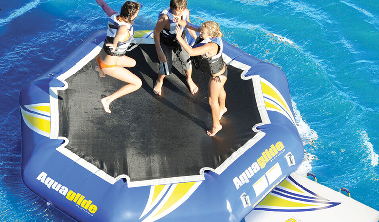 Up to $200 off Trampolines, Bouncers & Water Mats