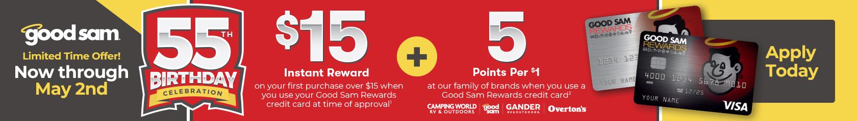 Good Sam Limited Time Offer