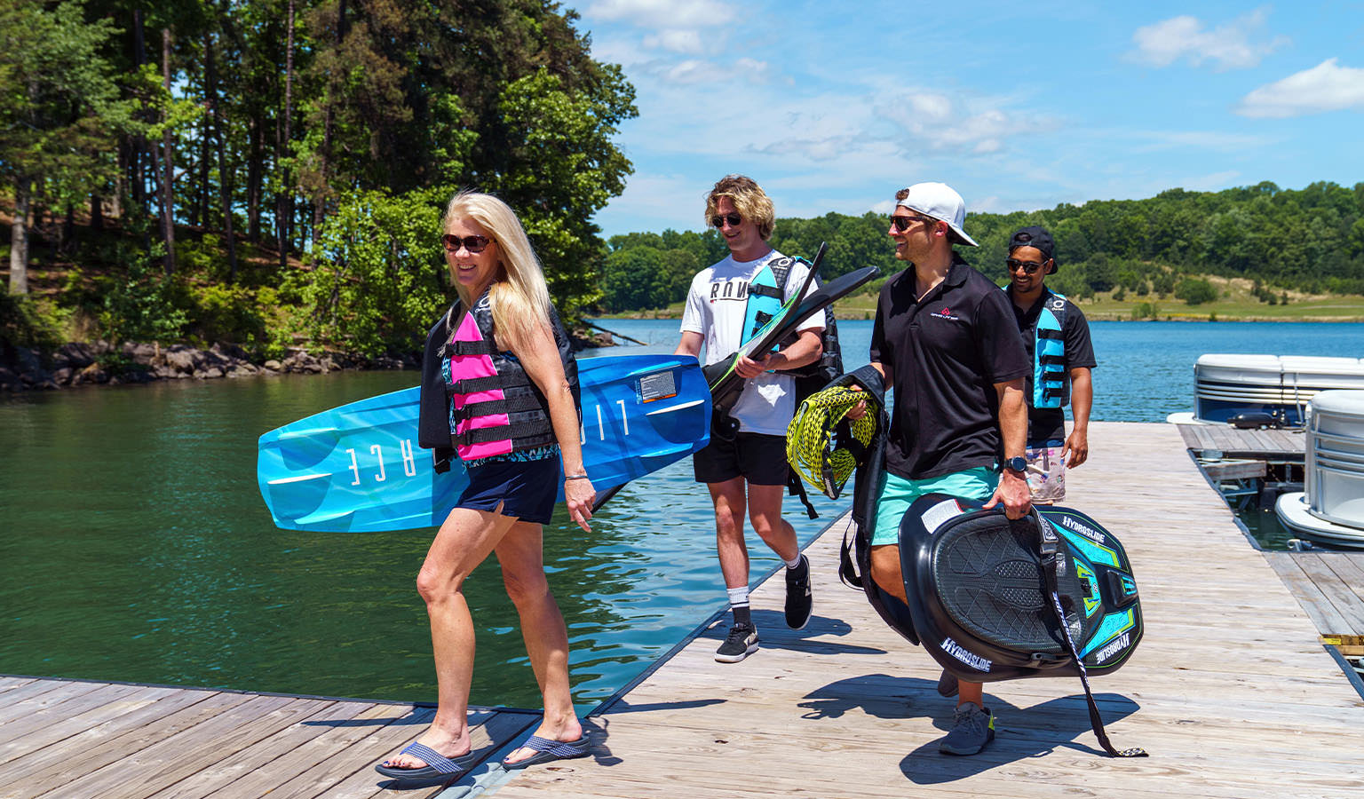Save up to 45% on life jackets, waterskis, wakeboards & more