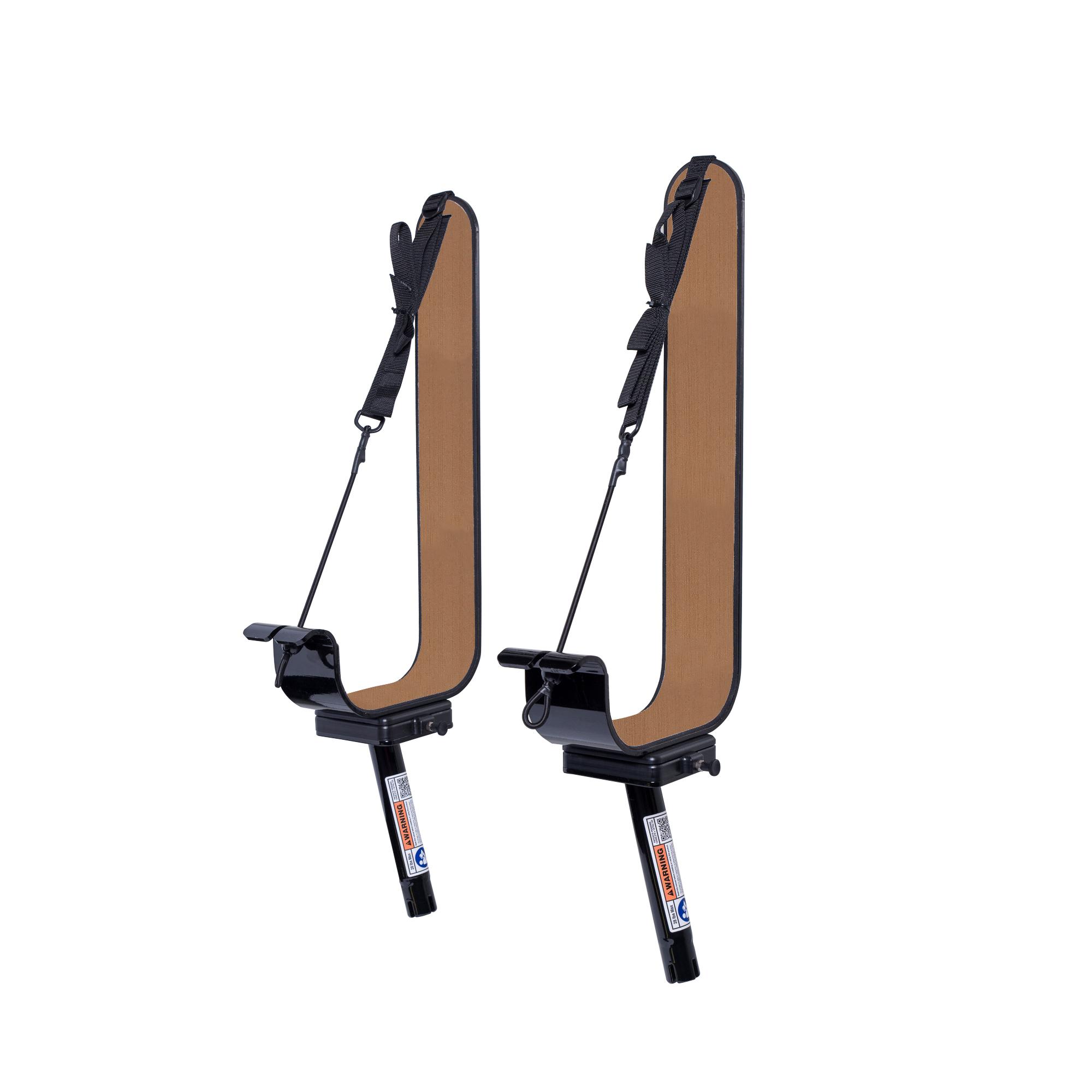 Manta Racks L2K Black Paddleboard/Kayak Rack For 15° Rod Holders