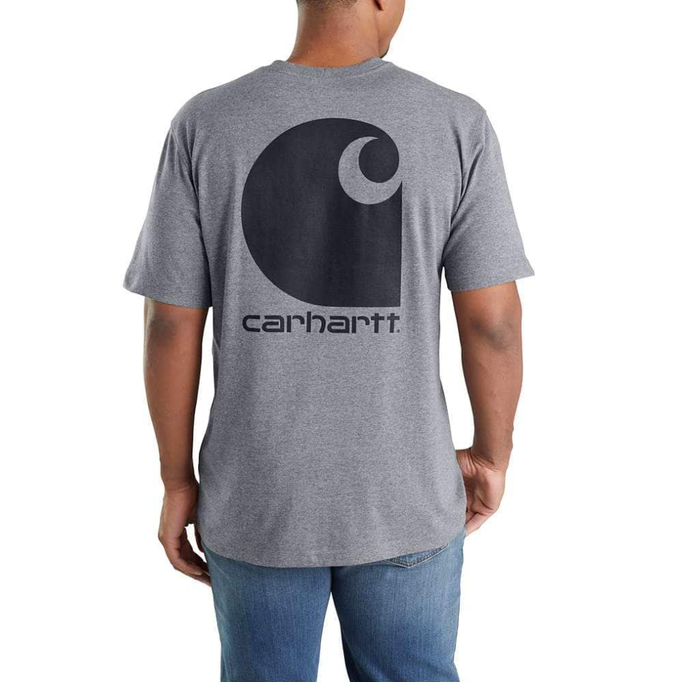 Carhartt Men Workwear C Logo Graphic Short sleeve Pocket Tee