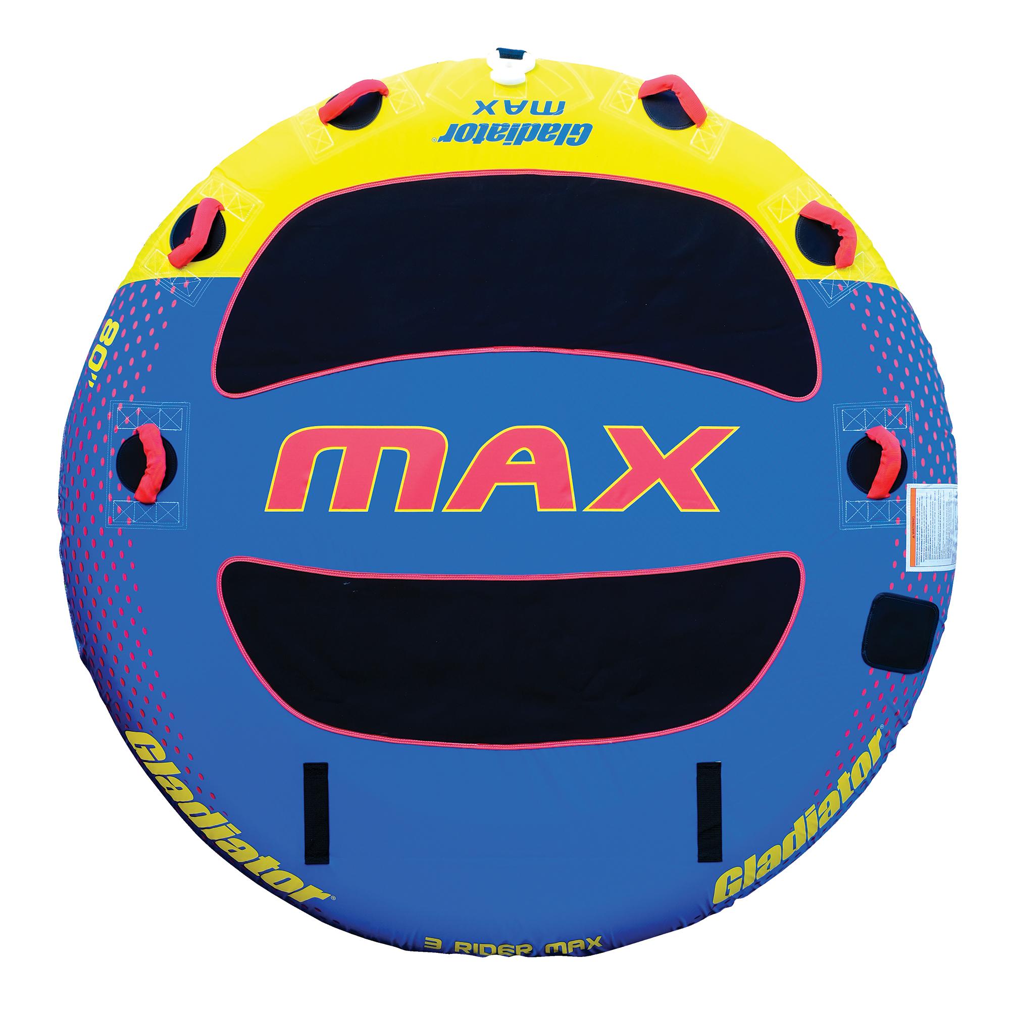 Gladiator Max Deck Rider 3-Person Towable Tube