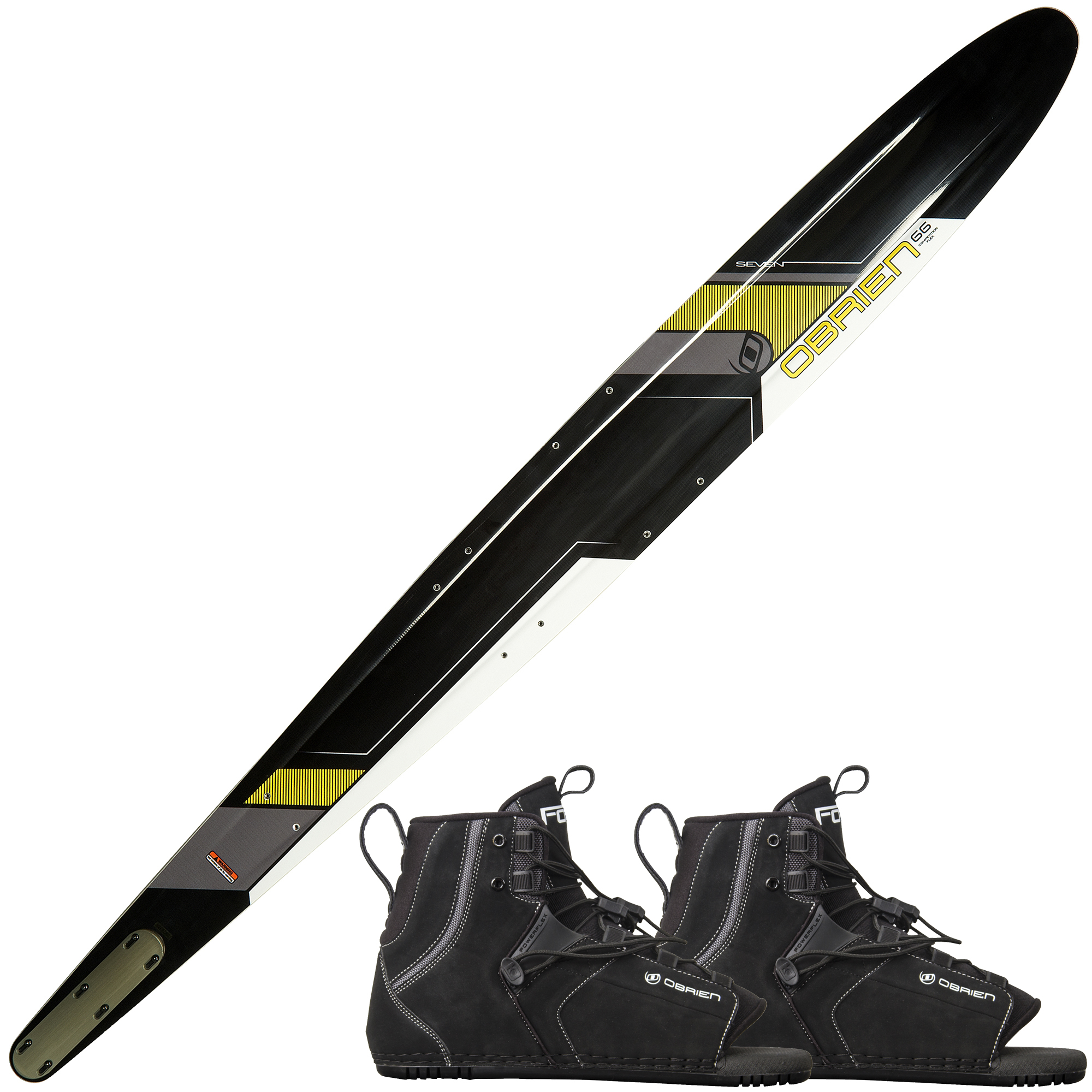 O'Brien Seven Slalom Waterski With Double Force Bindings