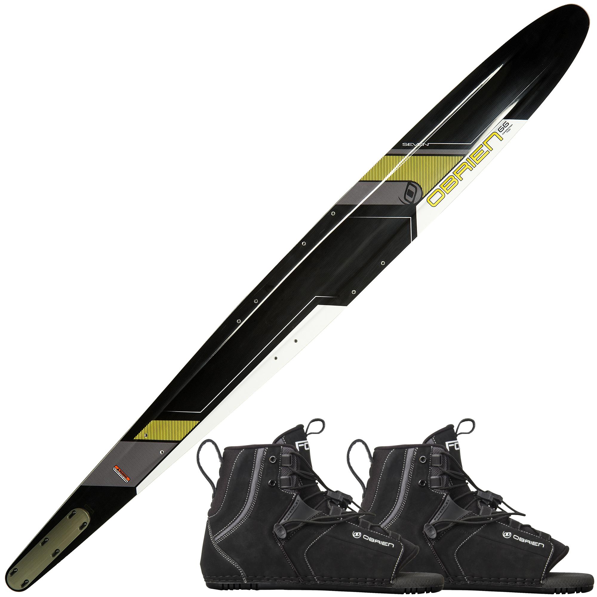 O'Brien Seven Slalom Waterski With Double Force Bindings