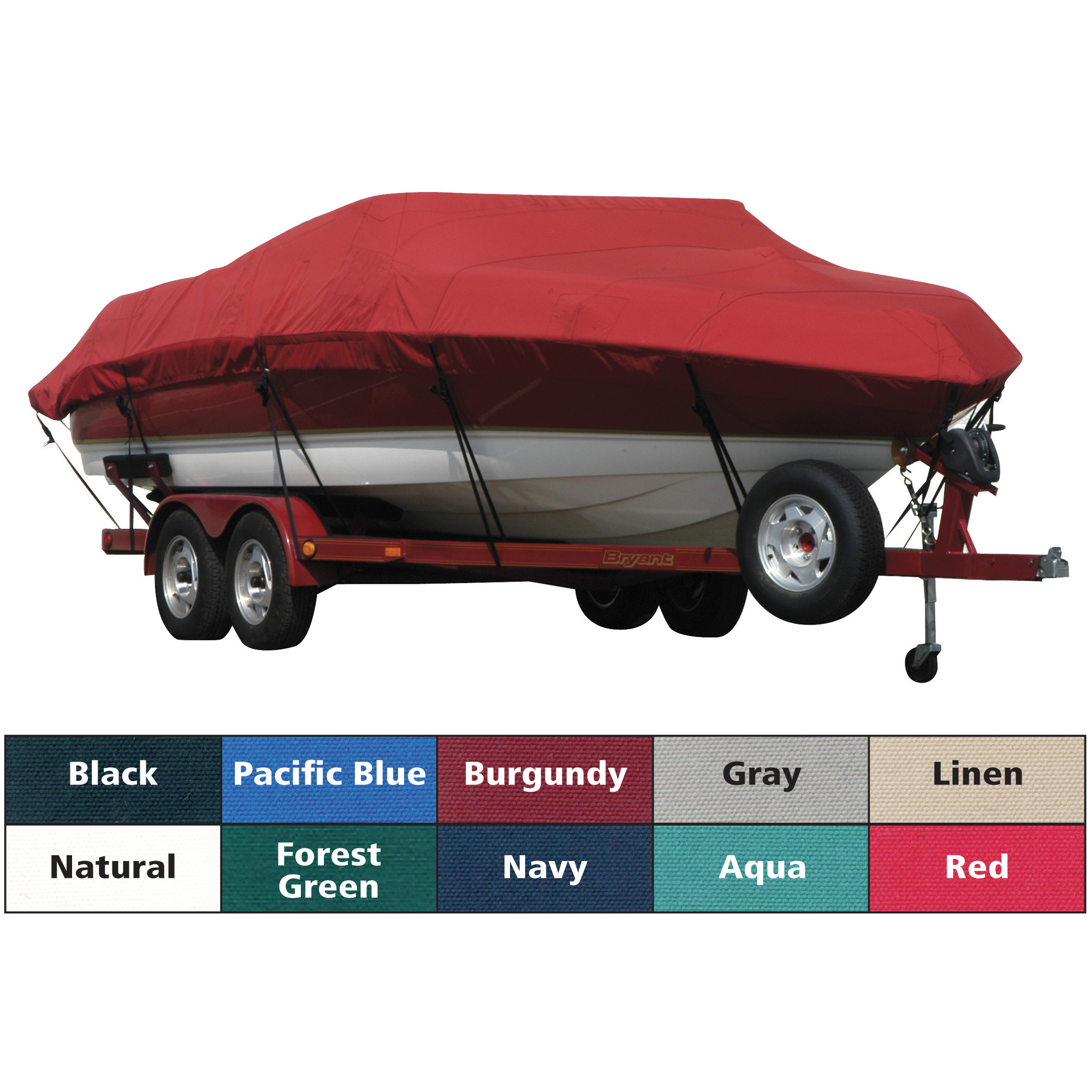 Exact Fit Covermate Sunbrella Boat Cover For Rinker 190 Br