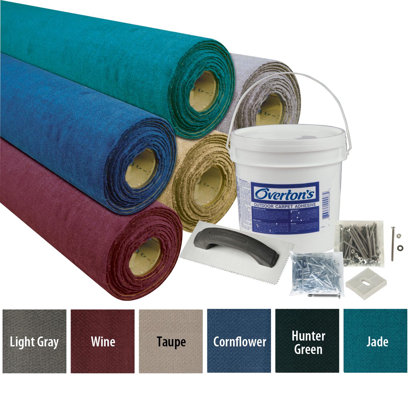Overton's Sundance Carpet Kit, 8.5'W x 25'L