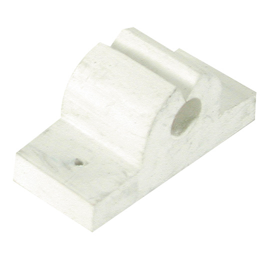 Rubber Rod/Tool Holder, 3/8″ white