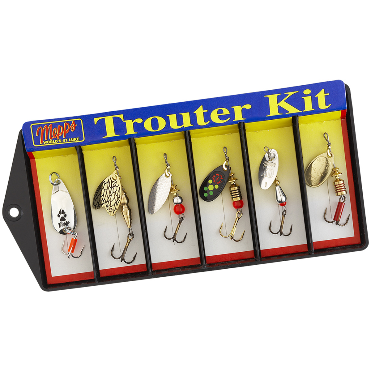 Mepps Trouter Kit Plain Lure Assortment