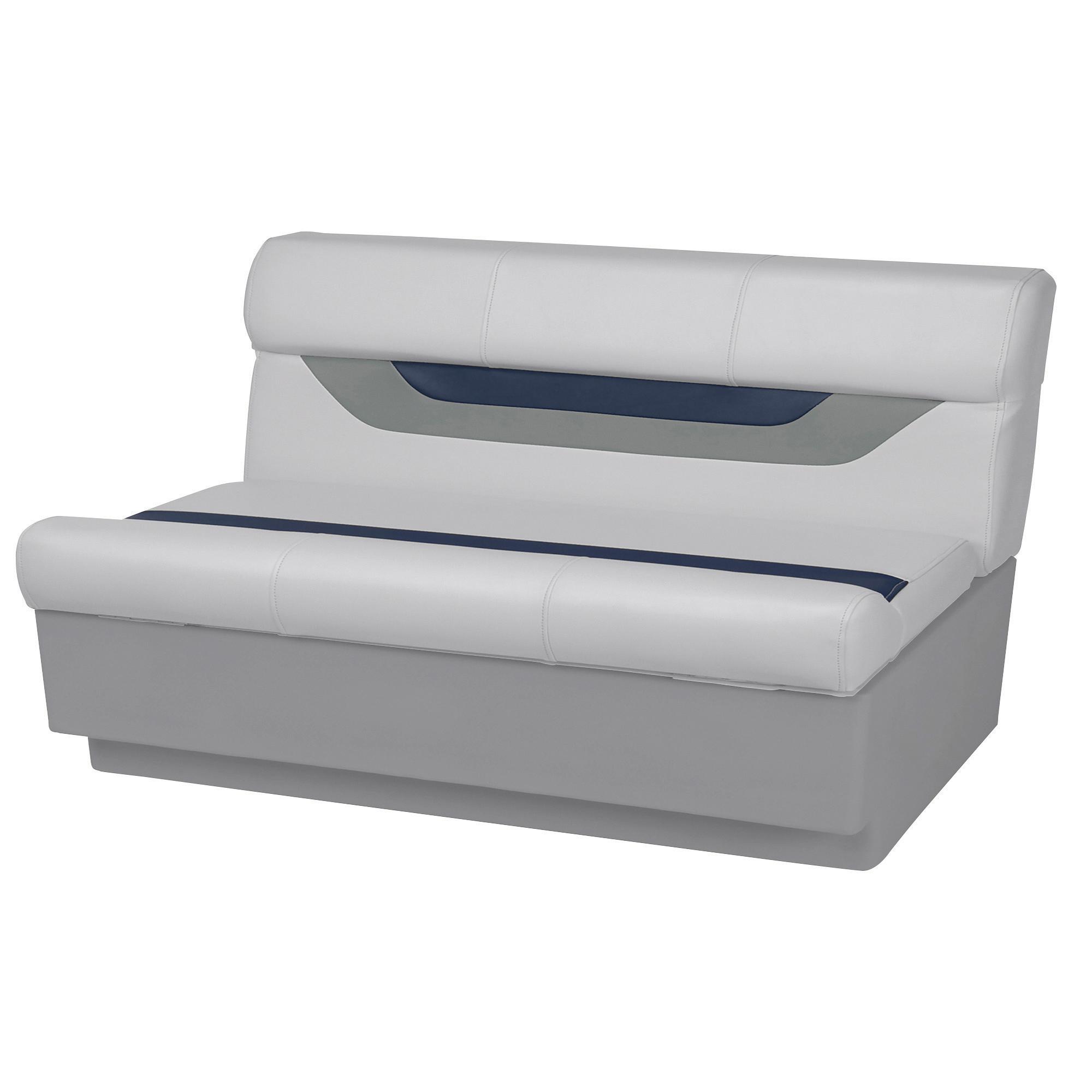 "Toonmate Designer Pontoon 55"" Wide Bench Seat, Sky Gray"