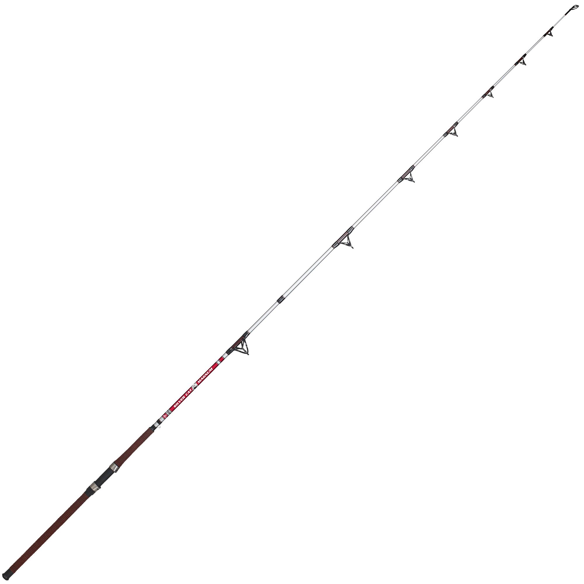 B'n'M Silver Cat Magnum Catfish Casting Rod