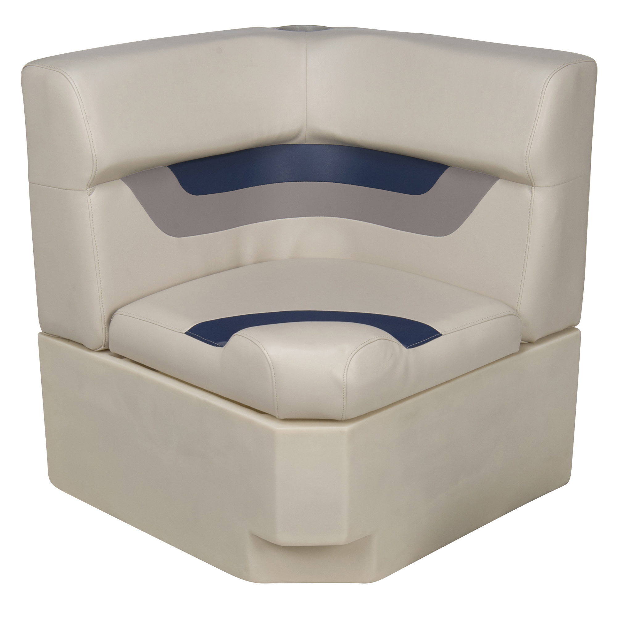 Toonmate Designer Pontoon Corner Section Seat Top