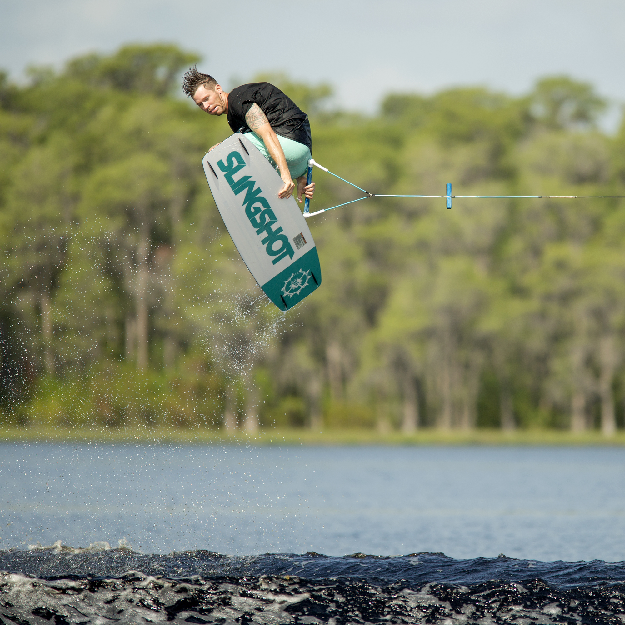 Slingshot Nomad Wakeboard With Option Bindings