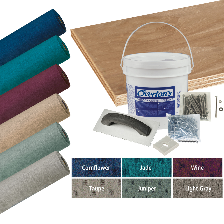 Overton's Blockade Carpet and Deck Kit, 8'W x 20'L