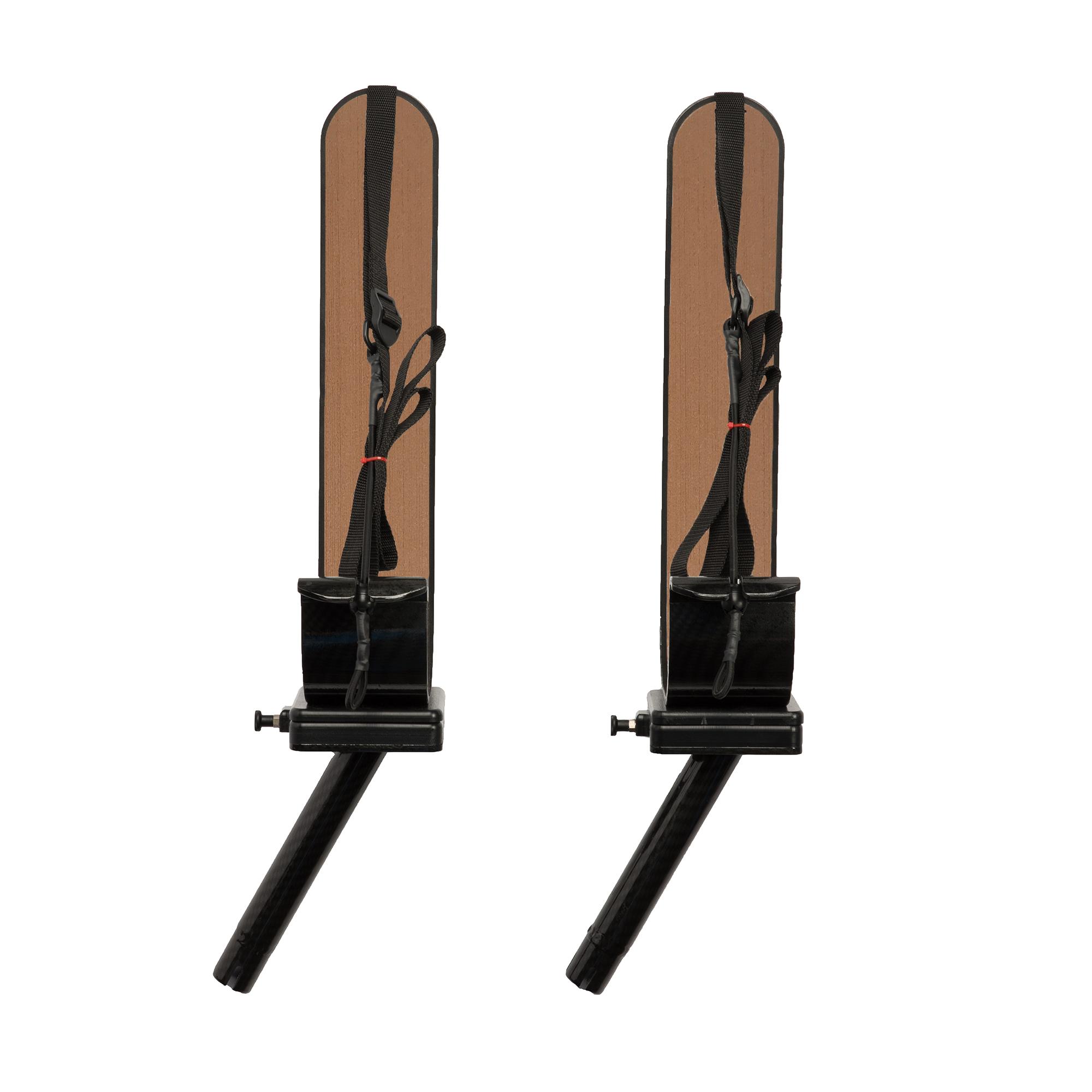 Manta Racks S1 Black Single Paddleboard Rack For 1-15° & 1-30° Rod Holders