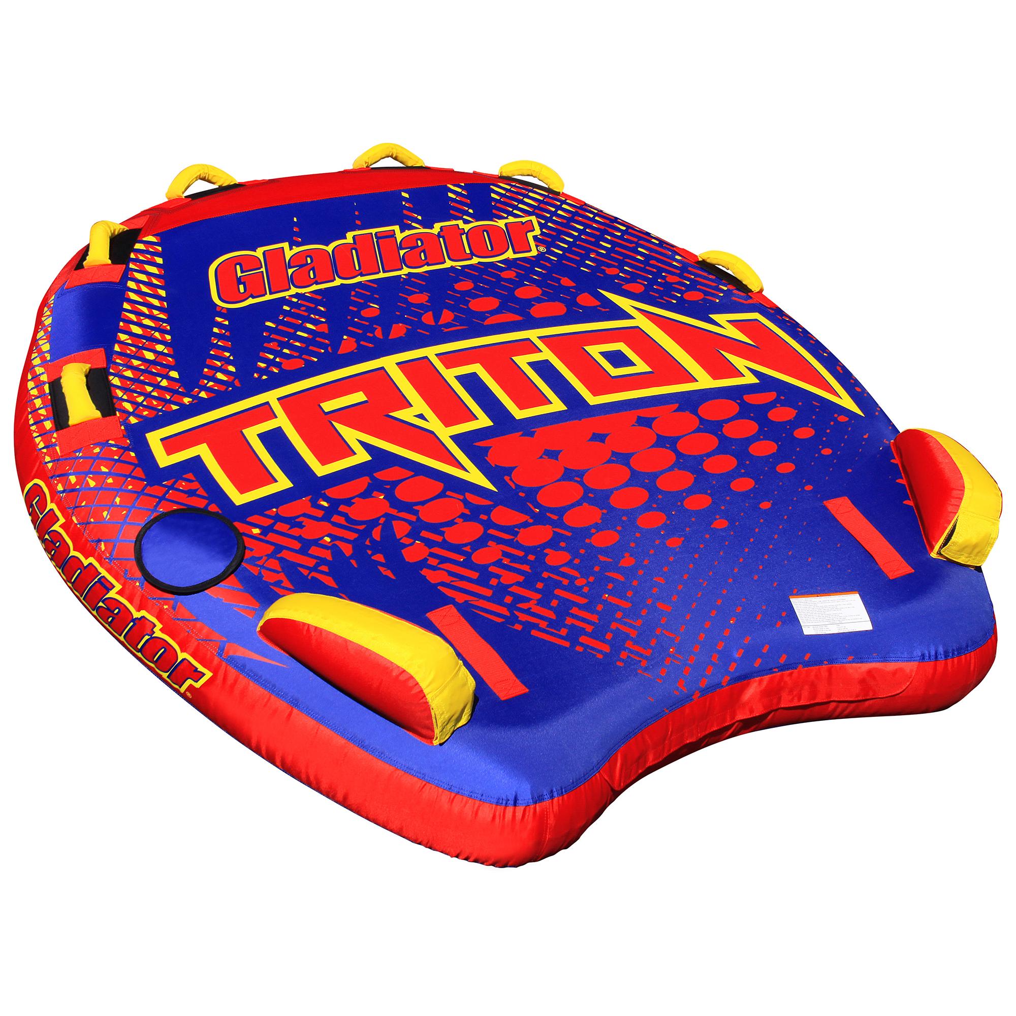 Gladiator Triton 3-Person Towable Tube Package