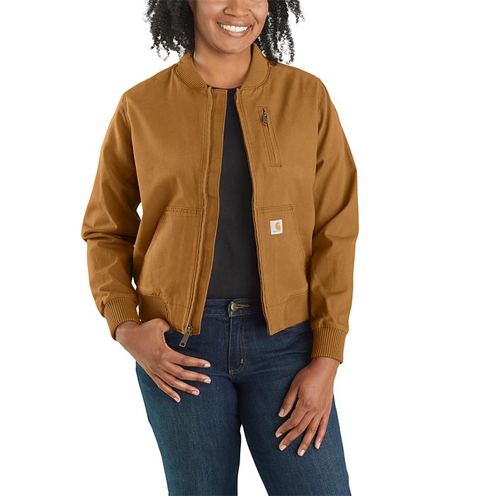 Carhartt Womens Crawford Bomber Jacket