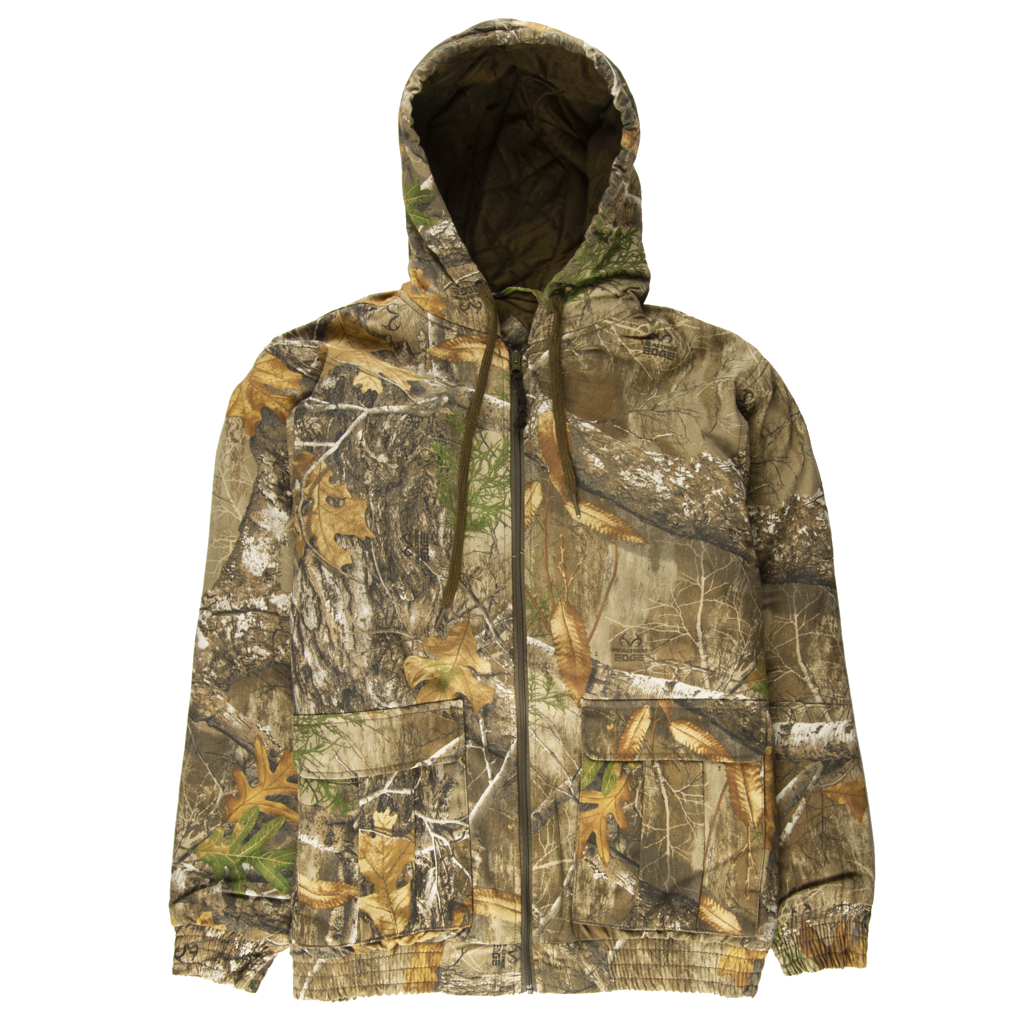 Hunter's Choice Men's Gritty Insulated Jacket, Realtree Edge Camo
