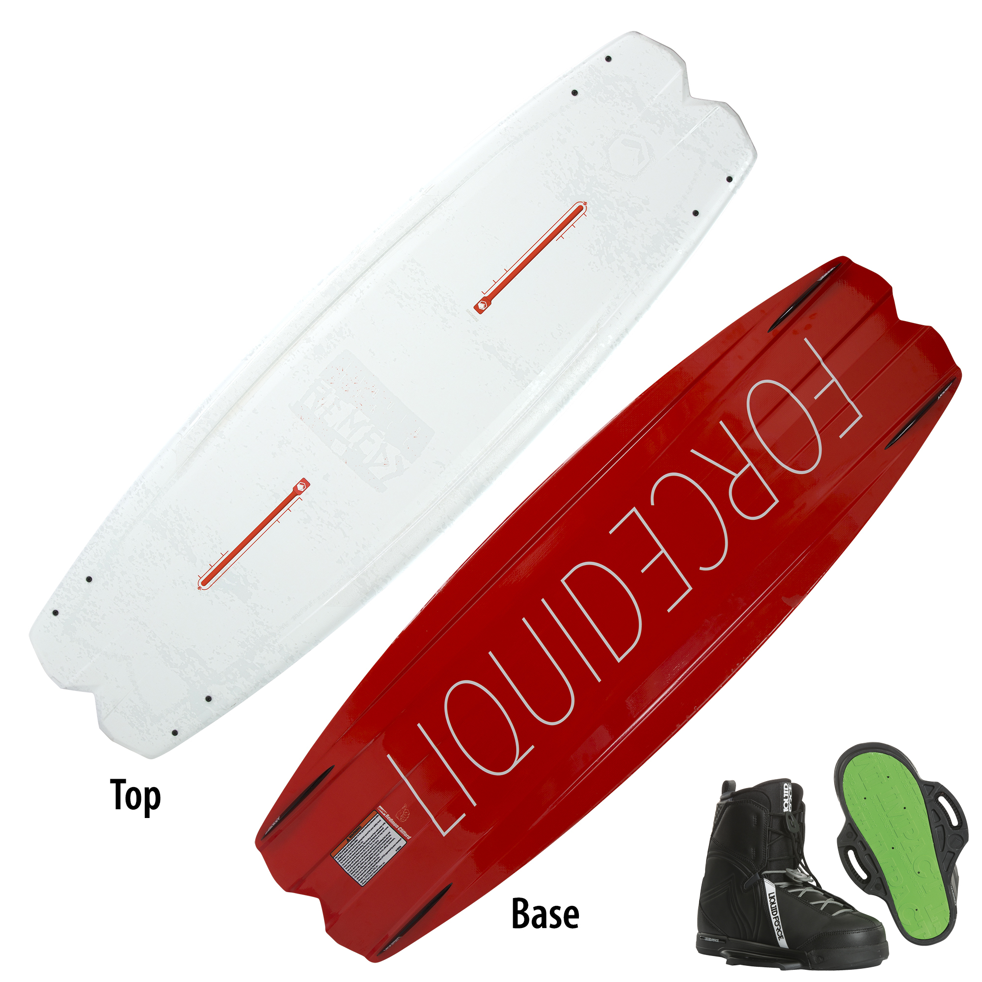 Liquid Force Remedy Wakeboard With Classic Bindings