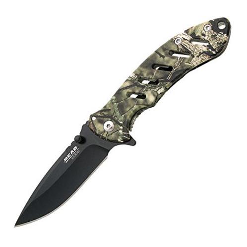 Bear Edge Brisk Folding Knife (Camo) thumbnail