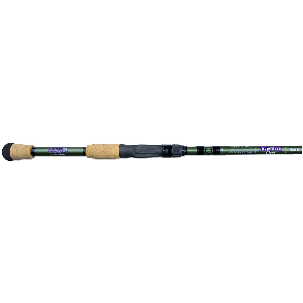St. Croix Mojo Bass Glass Casting Rods