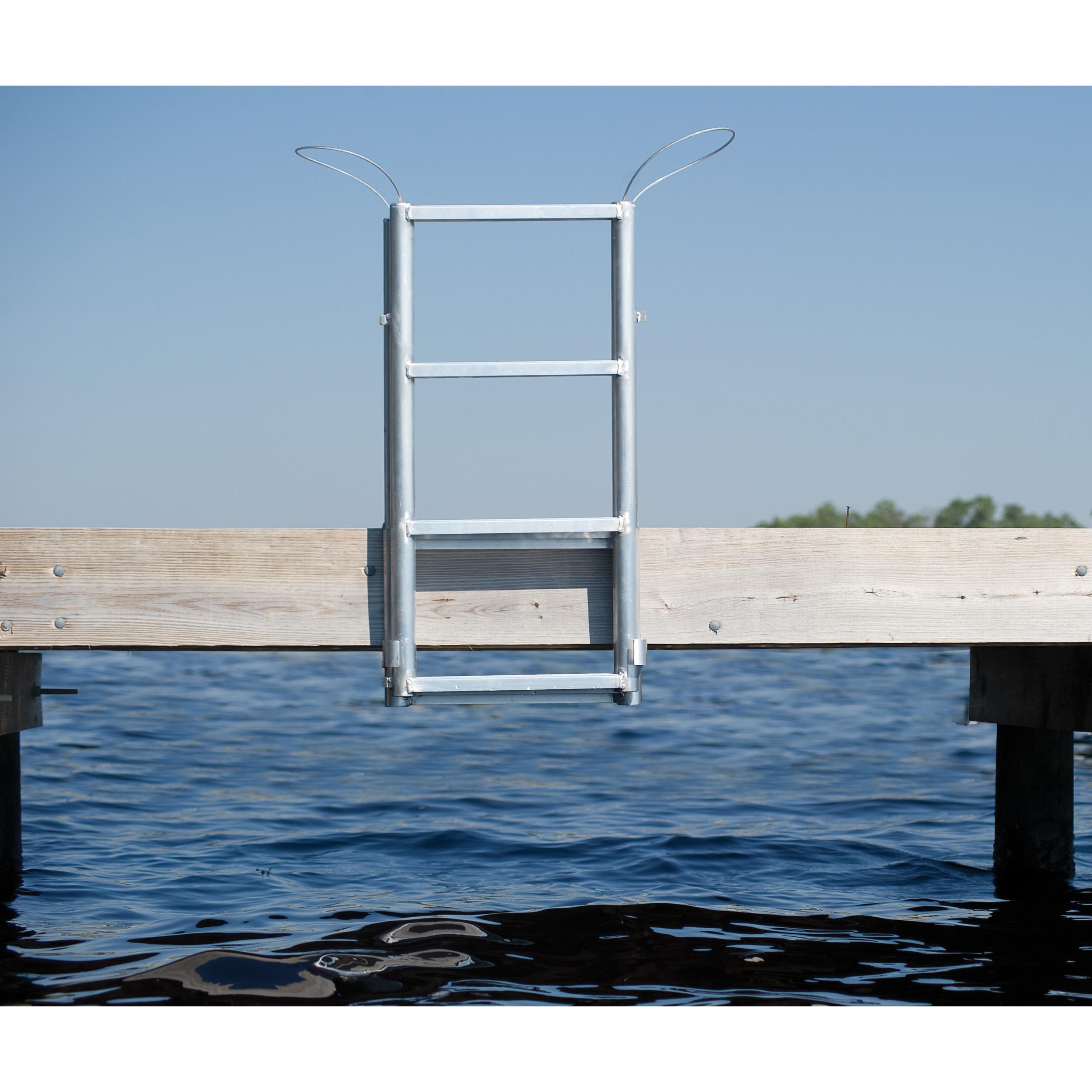 International Dock Wide Step Dock Lift Ladders