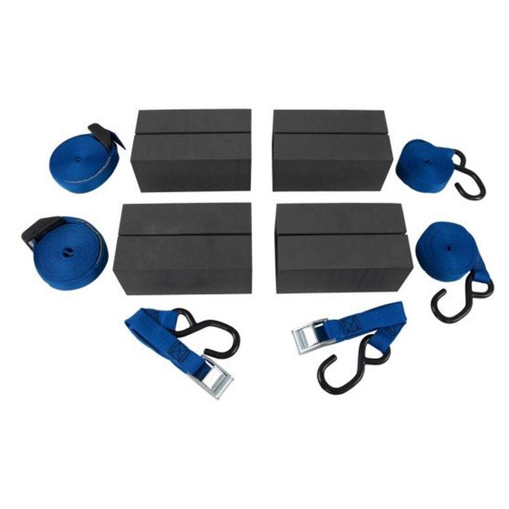 NRS Canoe Car Rack Kit, Blue