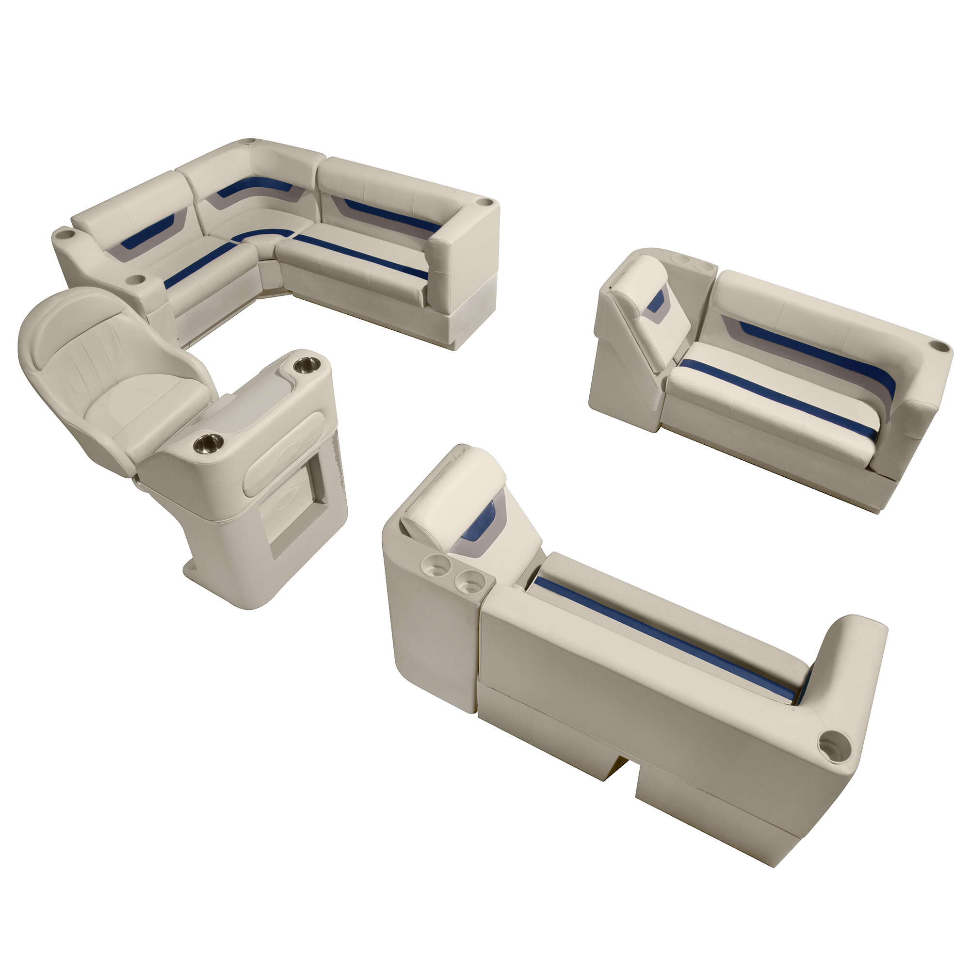 Toonmate Designer Pontoon Furniture Complete Boat Package