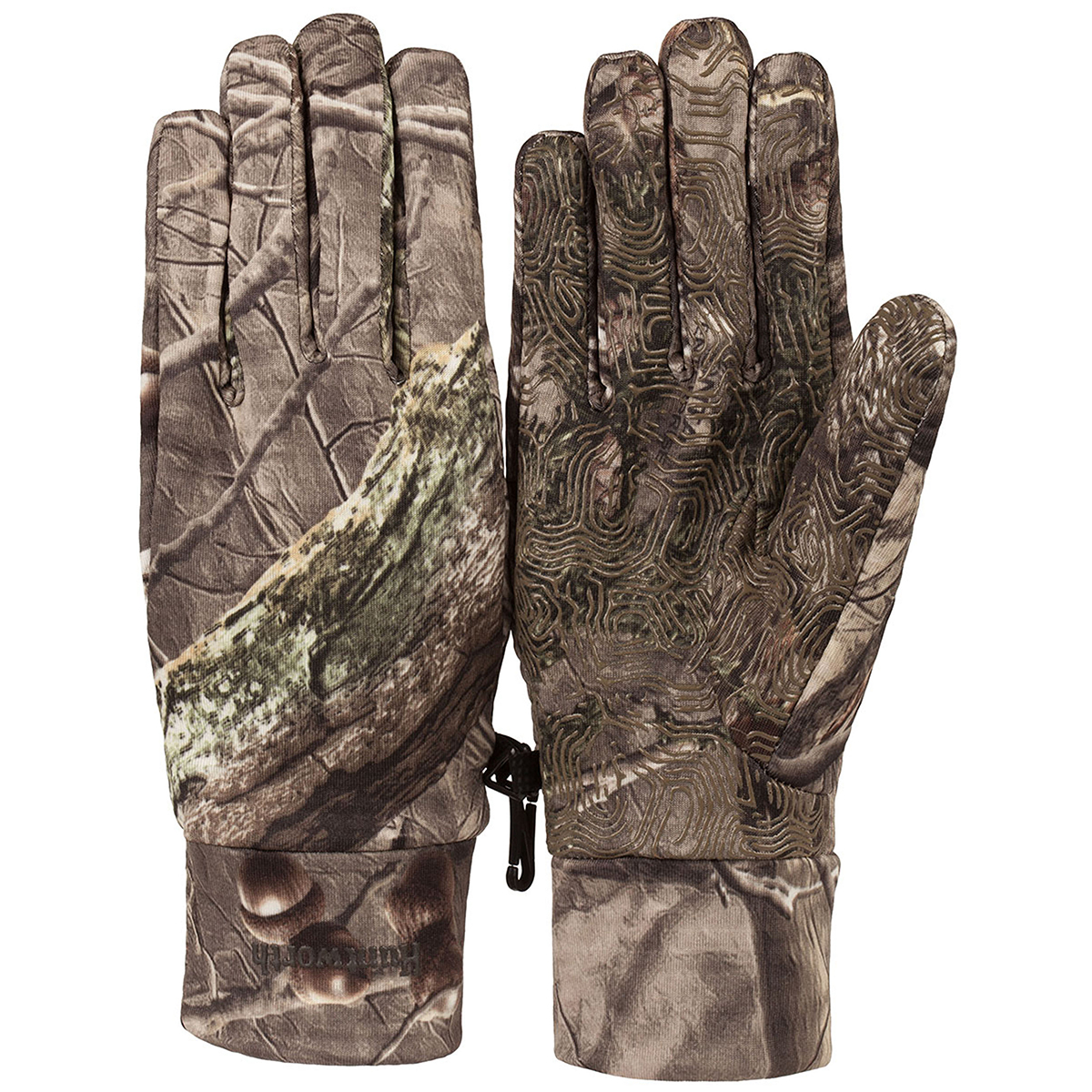 Huntworth Men's Full Finger Liner Glove, Hidd'n Camo