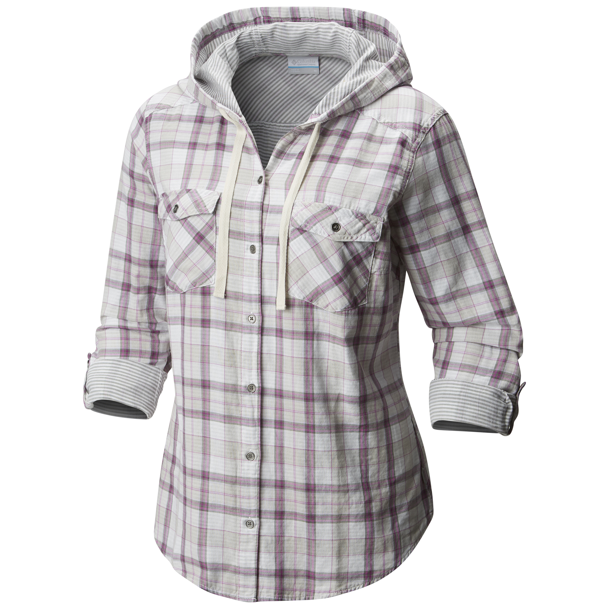 Columbia Women Times Two Hooded Long sleeve Shirt