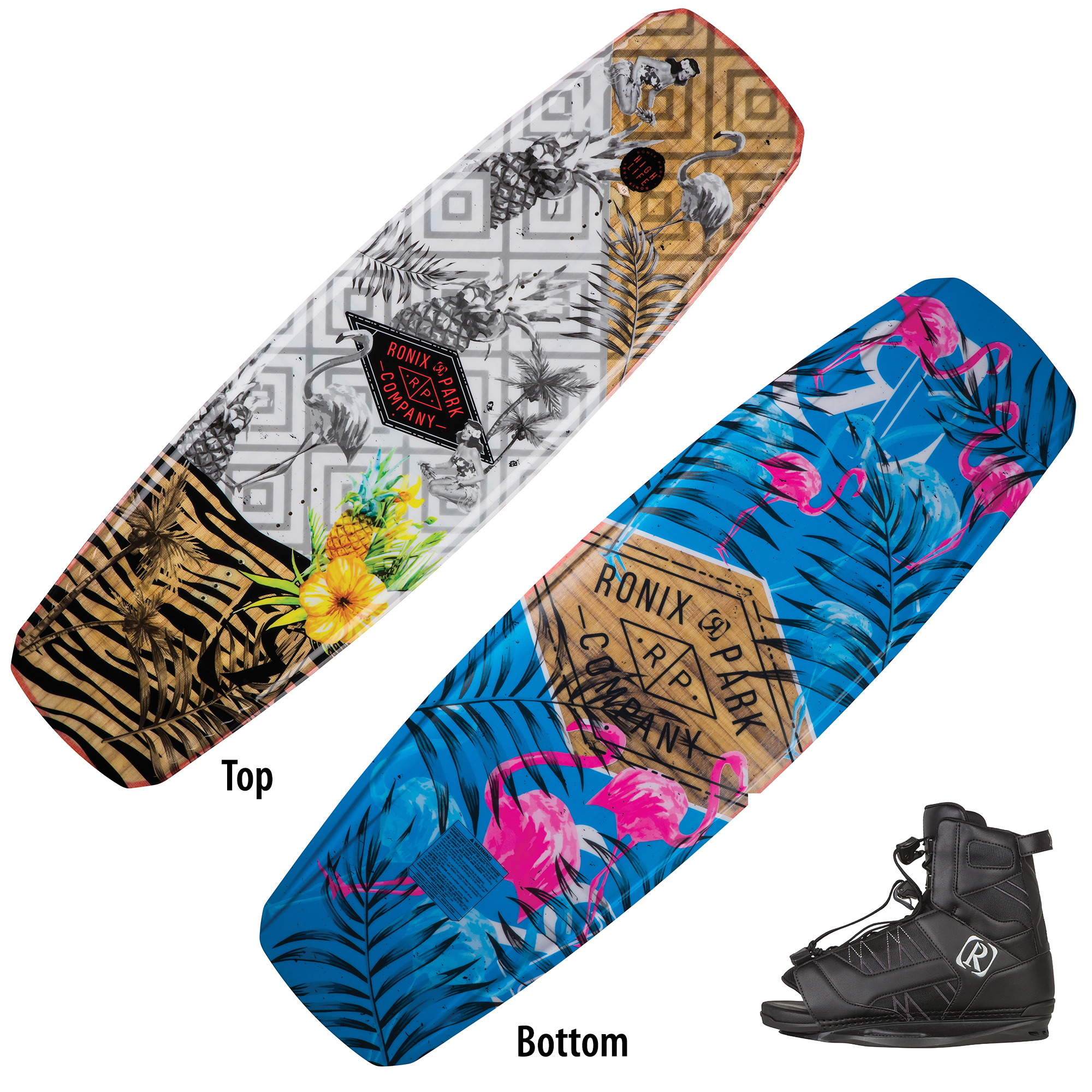 Ronix Highlife Wakeboard With Divide Bindings
