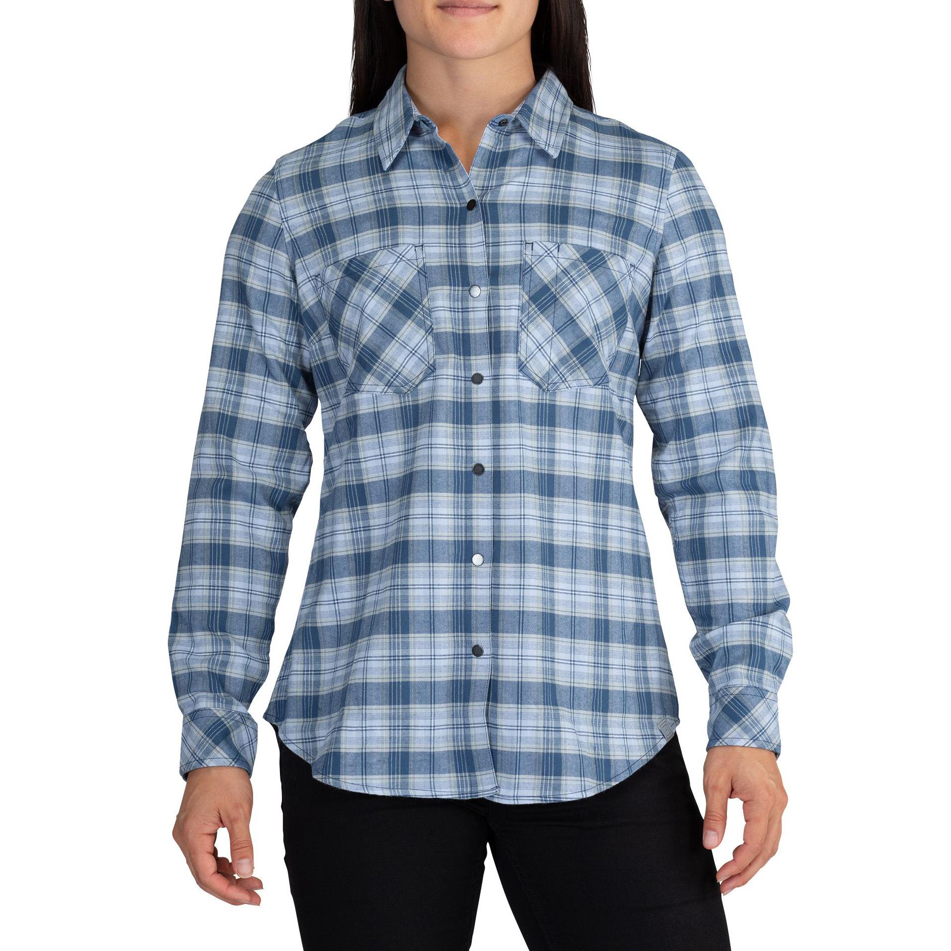 5.11 Women's Hanna Long-Sleeve Flannel Shirt