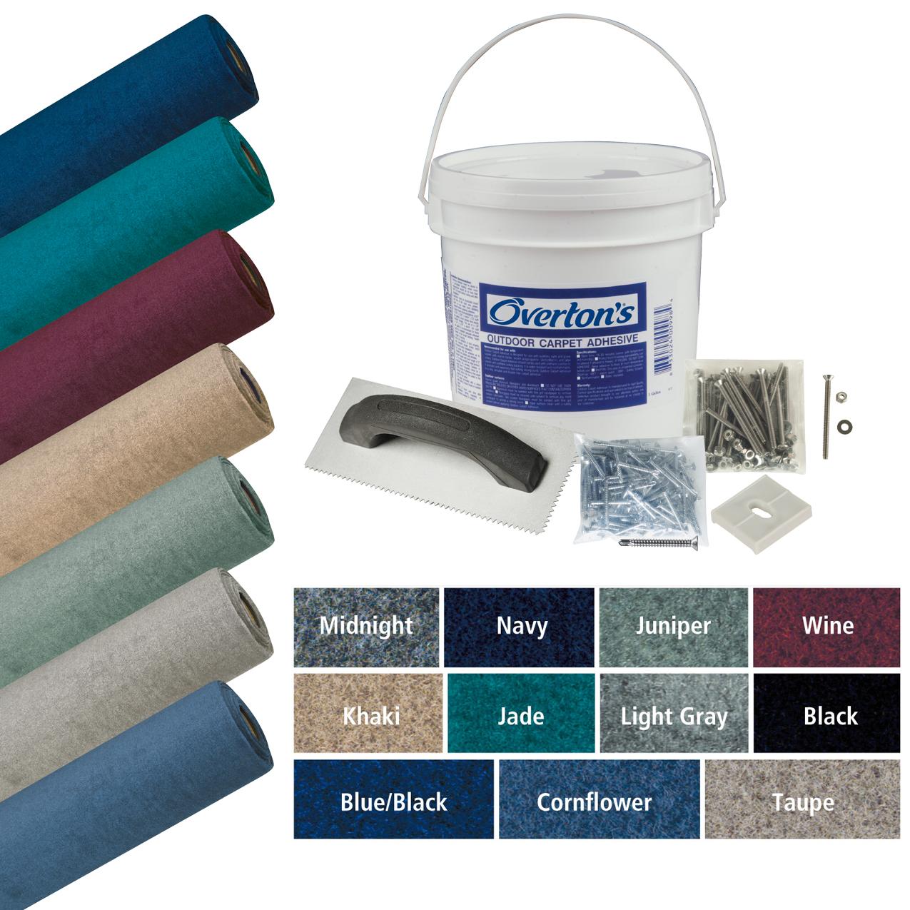Overton's Malibu Carpet Kit, 8.5'W x 25'L