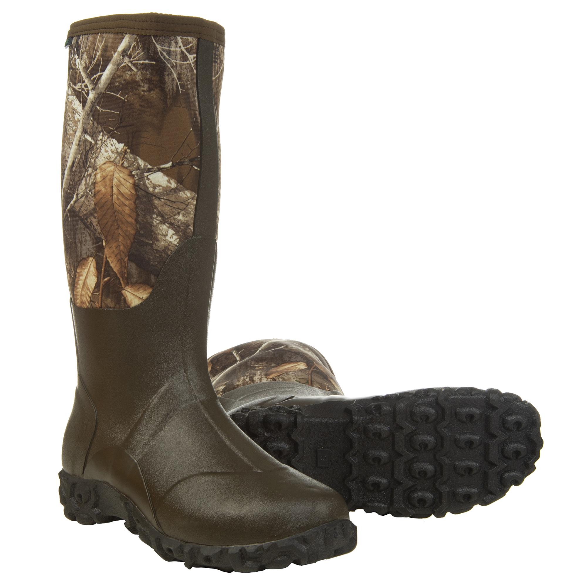 Hunter's Choice Men's 15″ Surge Waterproof Rubber Boot