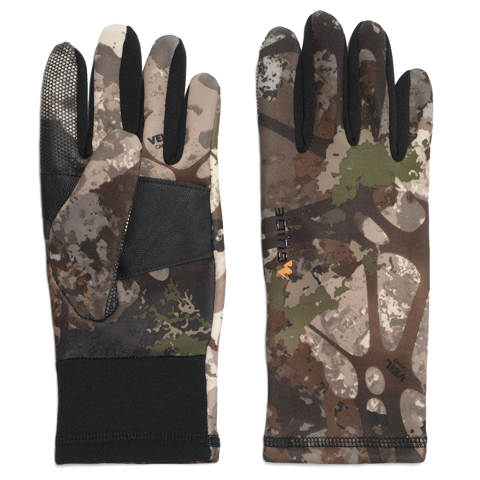 Guide Series Men's Stretch Touch Glove, Veil Stoke Camo