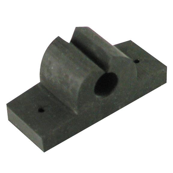Rubber Rod/Tool Holder, black 5/8″