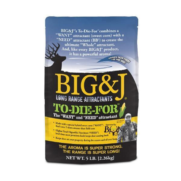 Big & J To-Die-For Attractant, 20 lbs