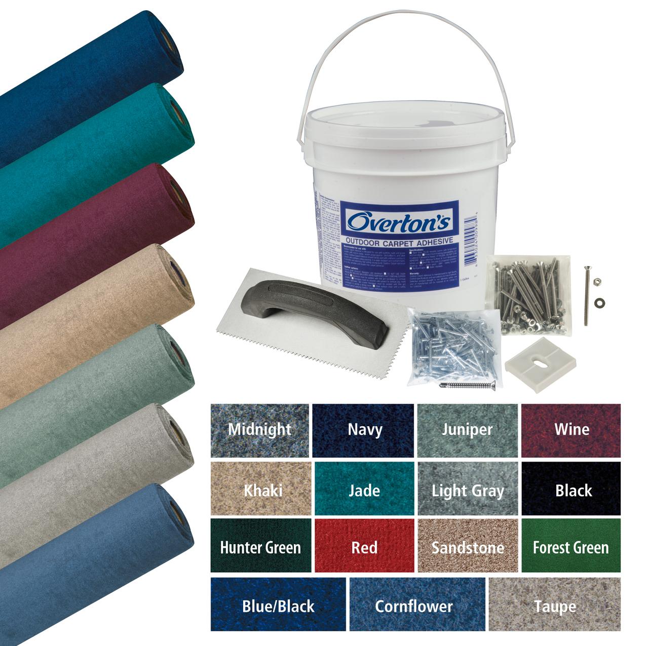 Overton's Daystar Carpet Kit, 8.5'W x 20'L