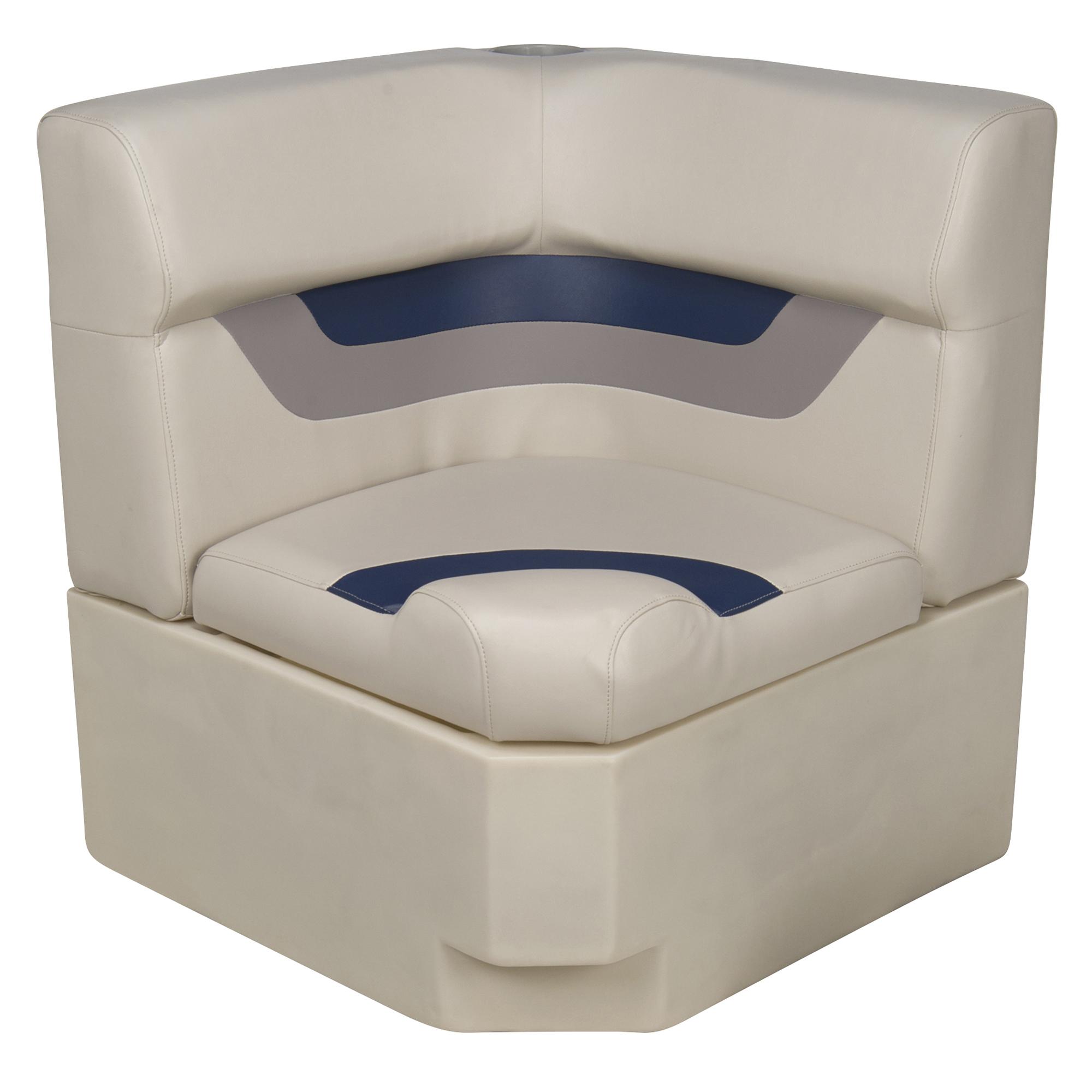 Toonmate Designer Pontoon Corner Section Seat Top