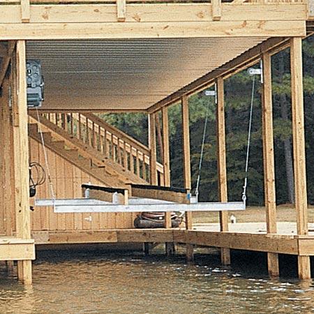 Doozie Boat House 3000-lb. Cradle Kit
