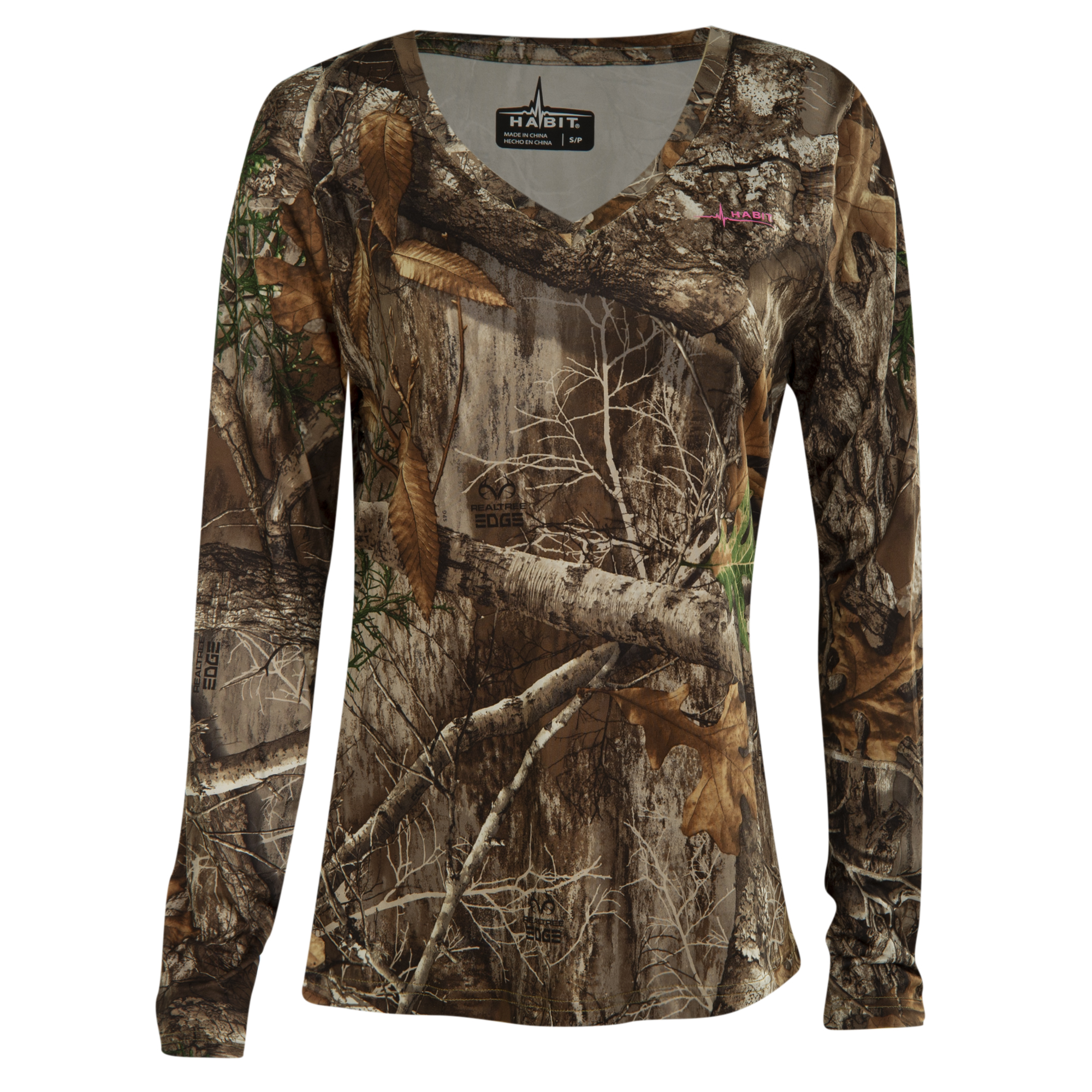 Habit Women's Camo Performance Long-Sleeve Tee