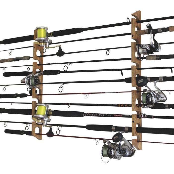 Rush Creek 11-Rod Storage Rack