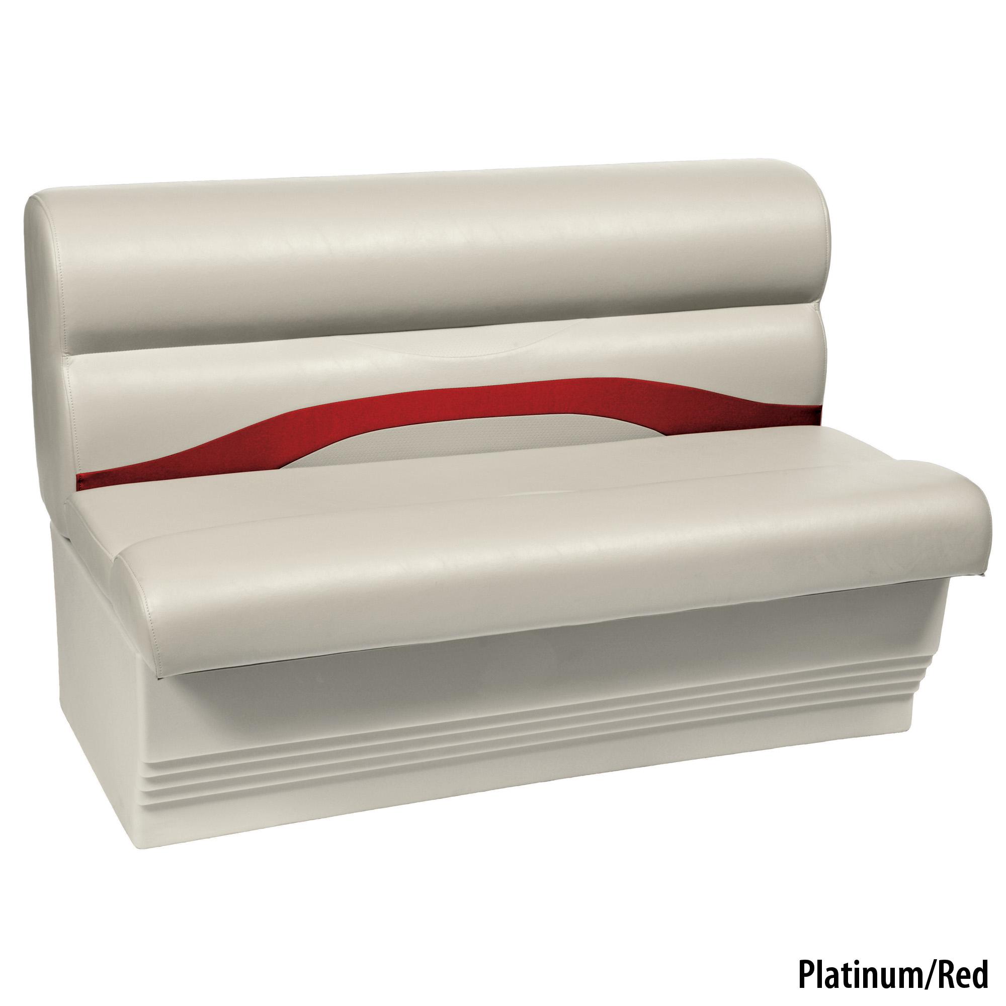 "Toonmate Premium Pontoon 45"" Wide Lounge Seat w/Platinum Base"