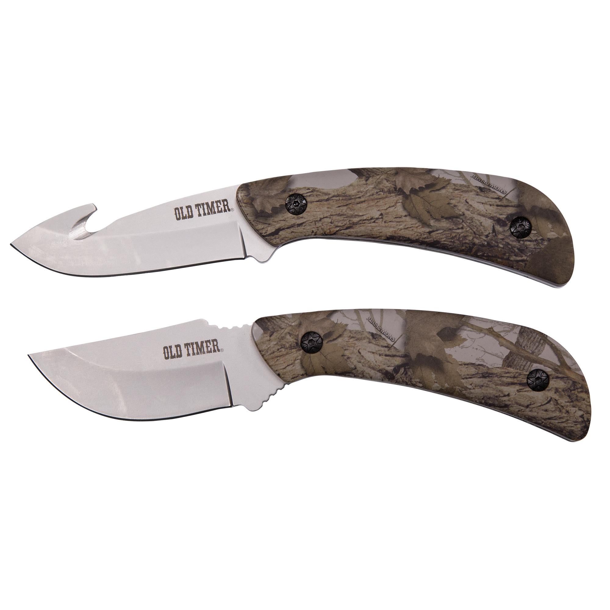 Old Timer Snowblind Fixed Knife 2-Pack