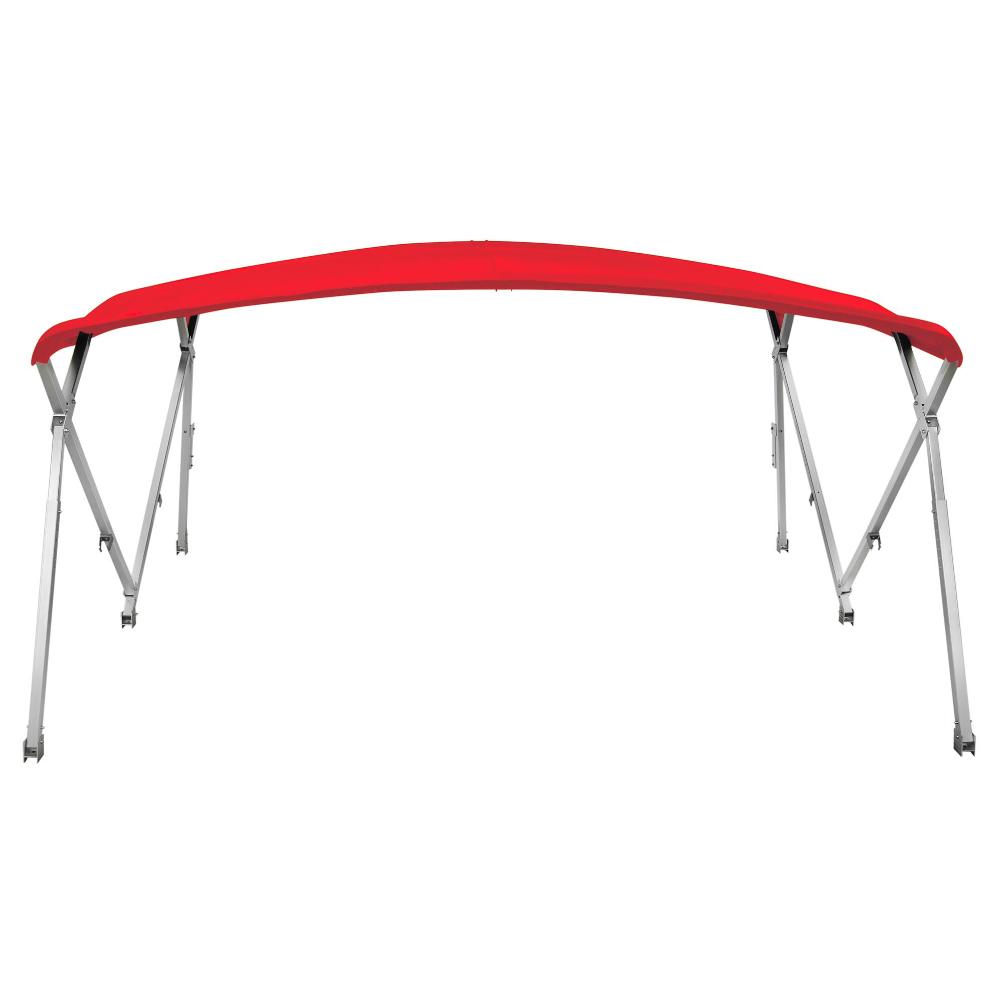 """Shademate Extra Long Big Top Pontoon Bimini Top, Sunbrella Acrylic, 1.25"""" Frame"""