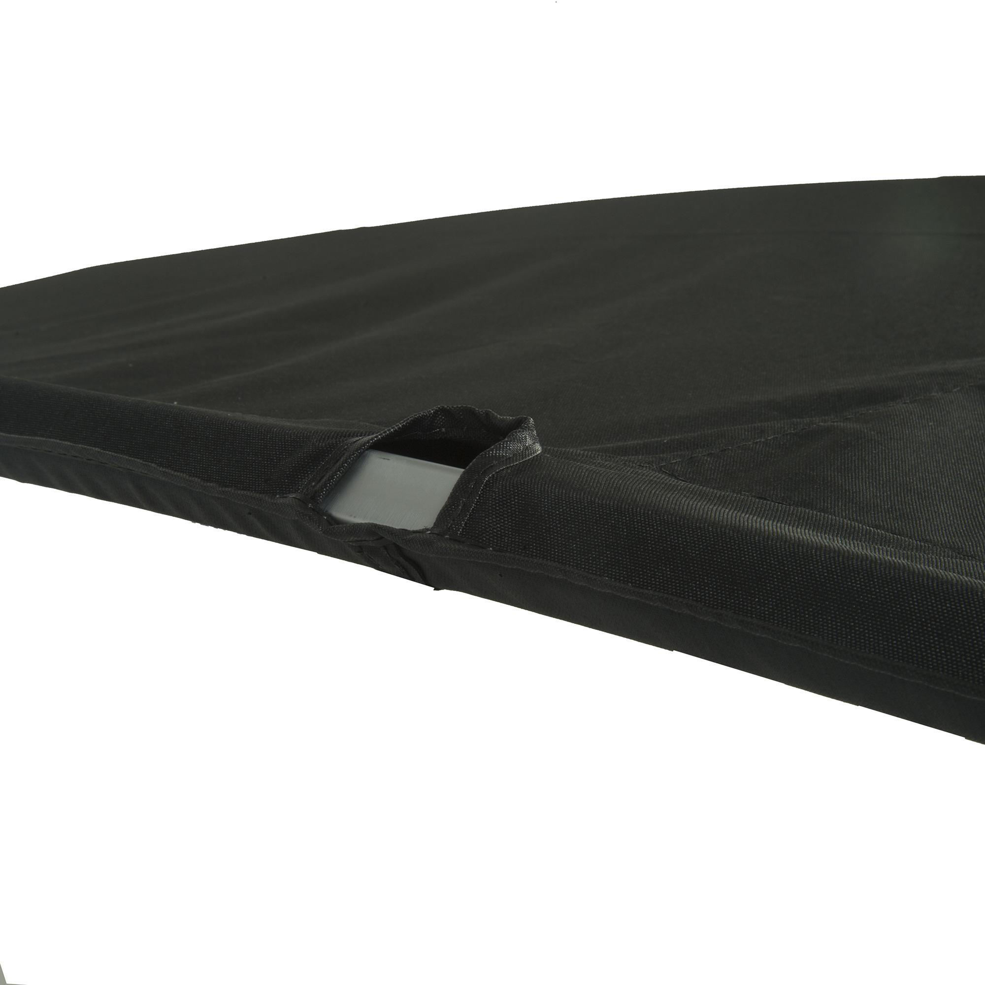 "Buggy Style Pontoon Bimini Top Sunbrella Acrylic, 1-1/4"" Free Standing 96""-102""W"