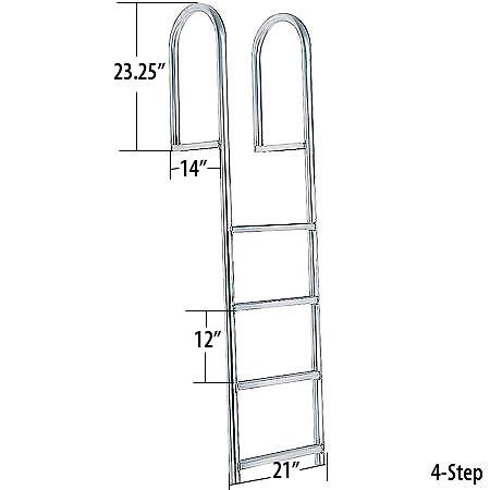 International Dock Stationary Dock Ladders