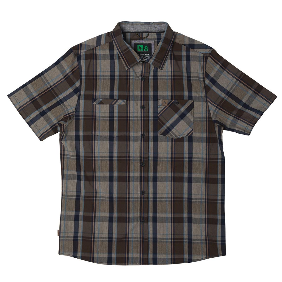 Hippytree Men Burbank Short sleeve Woven Shirt