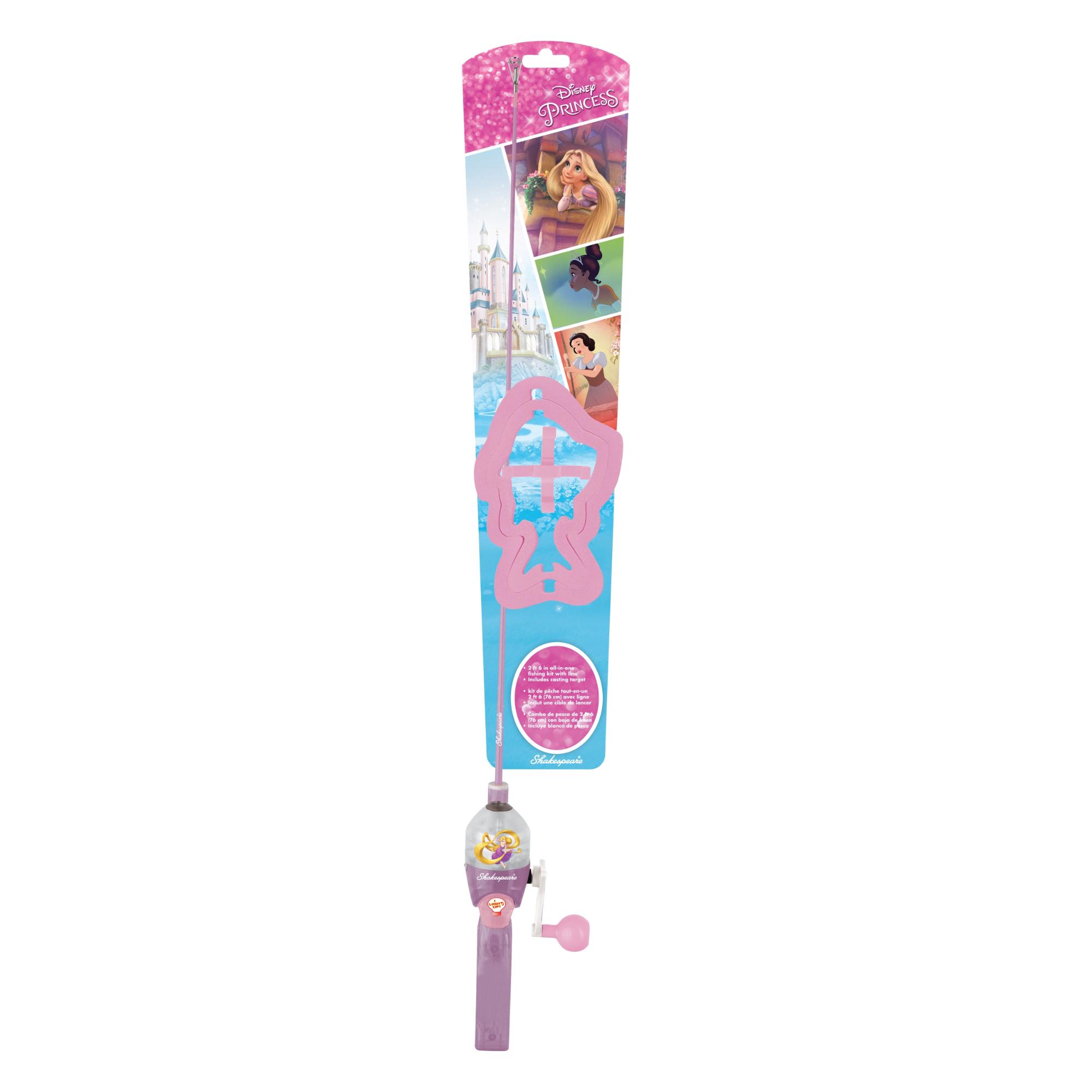 Shakespeare Disney Princess Spincast Combo Lighted Kit 2'6″ Medium 1-Pc.